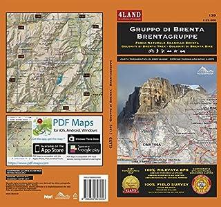 Gruppo di Brenta. Parco naturale Adamello Brenta. Carta escursionistica 1:25.000. Ediz. italiana, inglese e tedesca