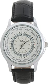 Charisma Casual Watch for MenLeather Band, Analog, C6566