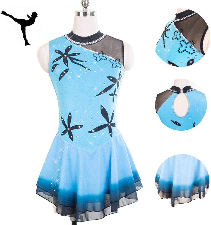 25cd195ab9e44 DUBAOBAO Figure dress lady skating dress girl sleeveless skating ...