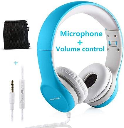 auriculares para niños limitador volumen