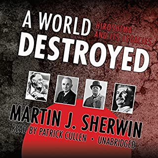 A World Destroyed audiobook cover art