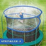 ARTBECK Thicken Trampoline Sprinkler, Outdoor Trampoline Water Play Sprinklers...