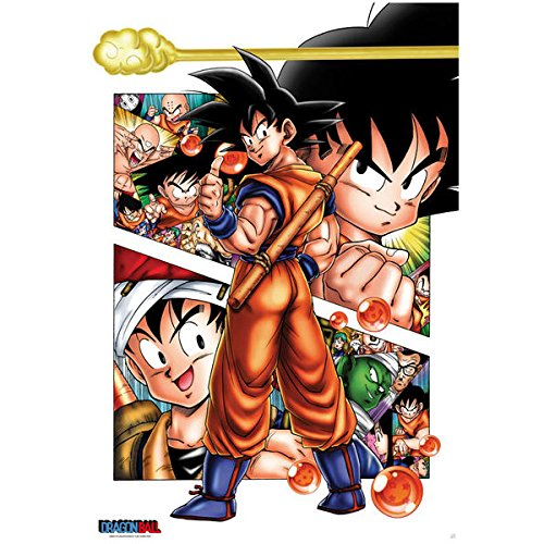 ABYstyle - Dragon Ball - Poster Son Goku Story (91,5x61cm)