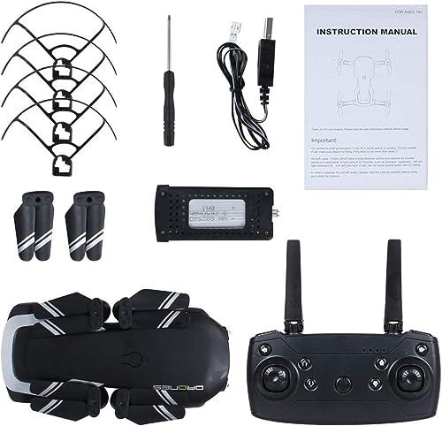 WANGKM Drone avec caméra pour Adultes Vidéo HD en Direct 720p avec GPS et Retour à la Maison, hélicoptère Quadcopter pour débutants 16 Min de Temps de vol Longue portée avec Fonctions de Suivi de Moi