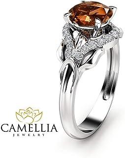 f200e3e7afb74 Amazon.com: Chocolate Diamond rings