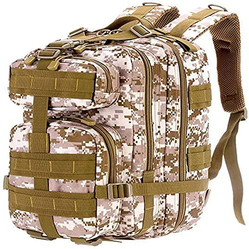 Zaino militare mimetico (40 l)Ragazzi Ragazzi Zaini per la Scuola, Esercito Bookbag con Porta di Ricarica USB