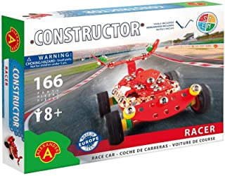 Young Constructor -Erector- Racer Model Building Set, 111 Pieces, For Ages 8+, STEM Construction Education Toy 100% Compatible with All Major Brands including Meccano