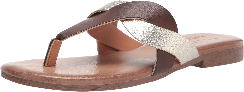 Tuscany 売買 特価キャンペーン Women's Thong Flat Sandal