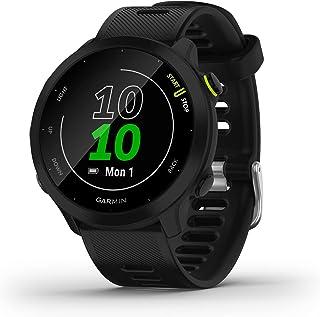 Garmin – Forerunner 55 - Montre GPS Multi-activités Running avec Fonctions d'Entrainement Garmin Coach et Cardio au Poigne...