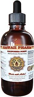 Certified Organic California Poppy (Eschscholzia Californica) Liquid Extract 4 oz