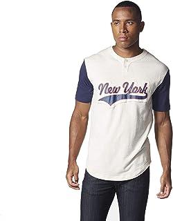 adidas Men's Soccer Red Bulls Henley Sweatshirt #AL5472