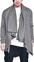 COOFANDY Men's Shawl Collar Cardigan Lightweight Casual Cotton Blend Open Front Drape Cape