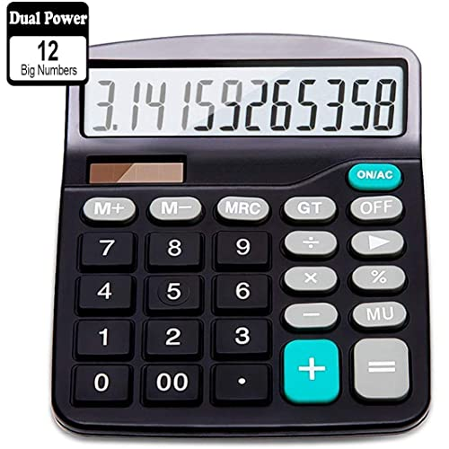 Solar Powered Calculator: Amazon com