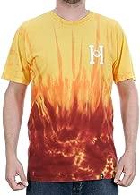 HUF Mens Spitfire Classic H T-Shirt TS00655, Red, L