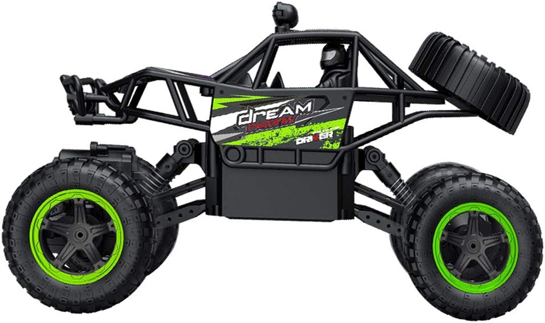 HUIGE RC 2.4HZ Elektrische Rock Crawler Radio Rennrad Fernsteuerungsautos für Kinder und Erwachsene,Grün B07QJV142L Schön   Abrechnungspreis