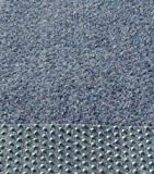 Kunstrasen, Rasenteppich, 100 cm Breite, Farbe blau-grau (300 x 100 cm)