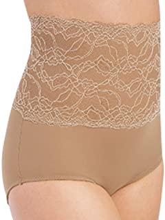 Lace Trim Control Shapewear Panty