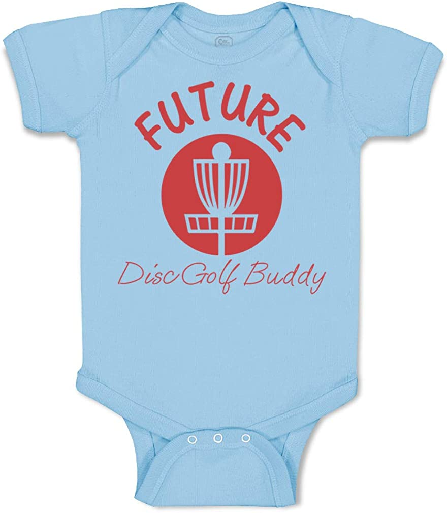 Outlet ☆ Free Shipping Custom Baby Bodysuit Future Disc Golf Free shipping on posting reviews Funny Buddy Cotton Boy G