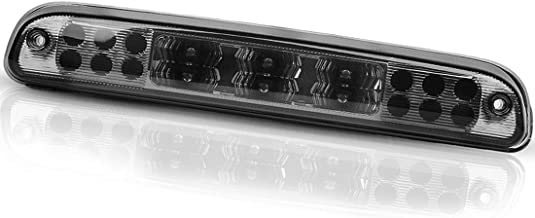 LED 3rd Brake Light for Ford F250 F350 F450 F550 Super Duty 1999-2016, Ranger 1993-2011, Ford Explorer 2001-2005, Mazda B-Series 1993-2010 High-Mounted Third LED Cargo Lamp Smoked ATBL1004
