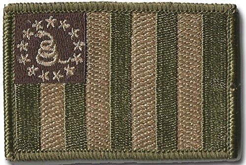 Sons Of Liberty/Gadsden Tactical Patch - Multitan