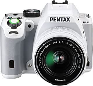 Pentax K-S2+18-50WR - Cámara fotográfica Digital Color Blanco