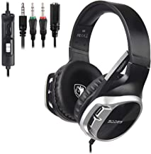 SADES R17 Gaming Headset for PS4 Controller,Xbox One,PC,Laptop,Mac,Tablet,Smartphone,Over..