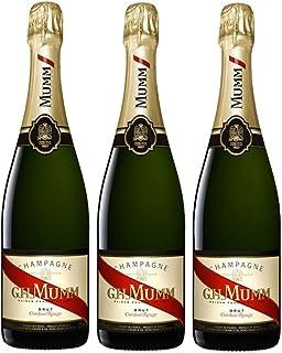 Champagner Mumm Cordon Rouge Brut - Schaumwein - 3 Flaschen