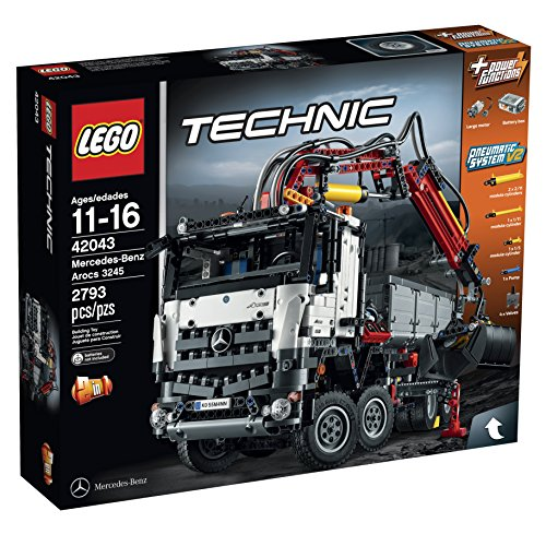 LEGO Technic 42043 Mercedes-Benz Arocs 3245 Building Kit by LEGO