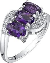 3 stone diamond rings on sale