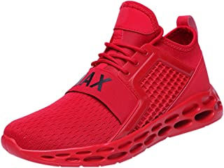 JJLIKER Mens Trainers Sneakers- Running Tennis Shoe Fashion Casual Breathable Basketball Shoes Blade Trail Shoes