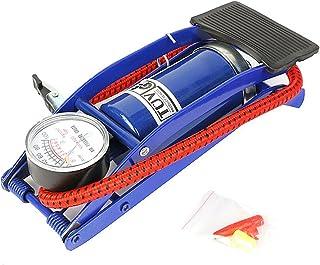 winomo azules Soporte Bomba de pie con manómetro para
