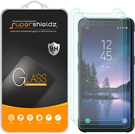 [3-Pack] Supershieldz for Samsung (Galaxy S8 Active) [Not Fit