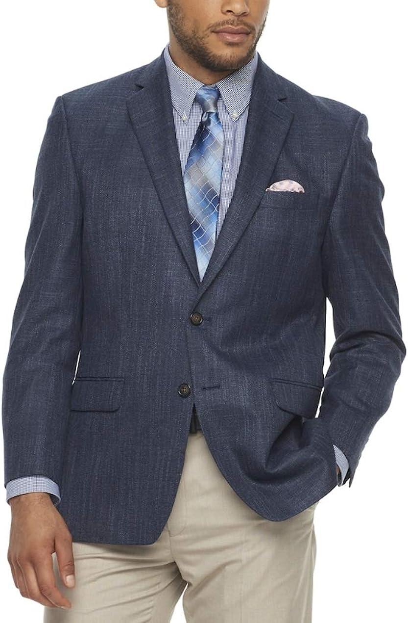 Chaps Men's Classic-Fit Sport Coat Blazer Blue