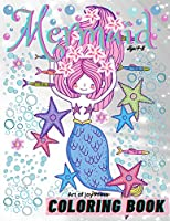 Mermaid Coloring Book Ages 4-8: Amazing 60 Coloring Pages for Kids with Cute Mermaids and their friends │ Activity Book with Adorable Designs for Girls