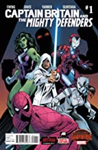 Captain Britain and the Mighty Defenders (2015 series) Complete Comic Bundle (Issues 1-2)