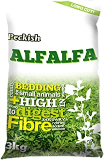 Peckish Alfalfa Long Cut Bedding 3kg Small Animal Bedding