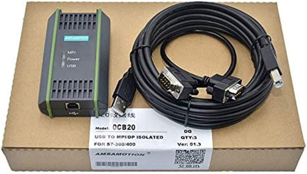 Compatible with Siemens PLC Programming Max 62% OFF Cable Indianapolis Mall Dat S7-200 300 400