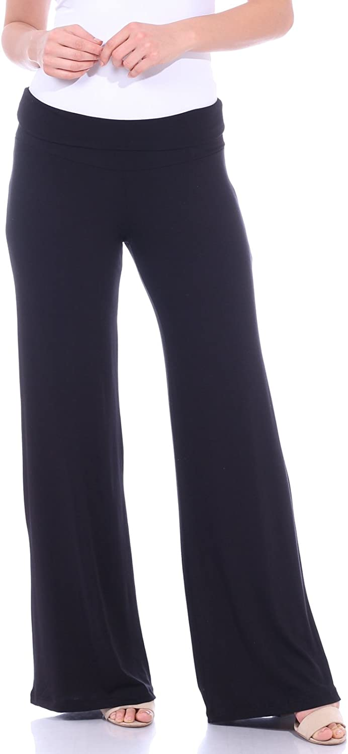 Popana Womens Palazzo Pants Casual Plus Size Made in USA