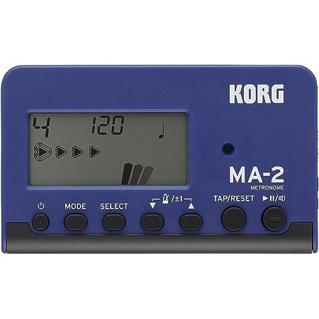 Korg MA-2LCD Pocket Digital Métronome bleu/noir
