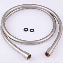 Kink-free Shower Hoses Extra Long 79 Inches for Handheld Showerhead Hose Extension Replacement 5-Layer PVC Plastic Explosi...