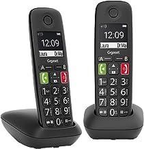 Gigaset E290 Duo Terminal de teléfono analógico Identifica