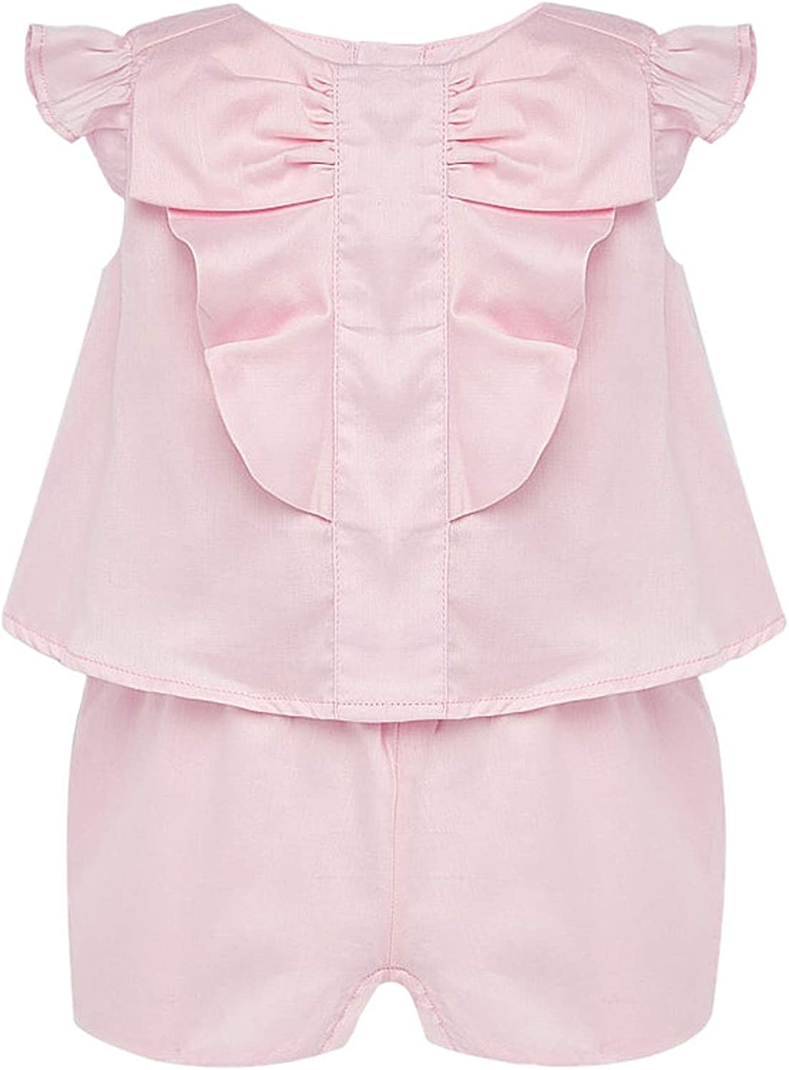 Mayoral - Voile Jumpsuit for Memphis Mall 1894 67% OFF of fixed price Rose Baby-Girls