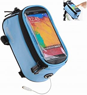 Roswheel Road Mountain Bike Bag Pannier Classic Mini Cycling Bicycle Front Tube Bags for Men Women for iPhone 4 5 6 7 Plus...