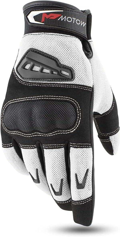 MOTOW Motorcycle Gloves for Powersports High order Summer OFFer Women Men