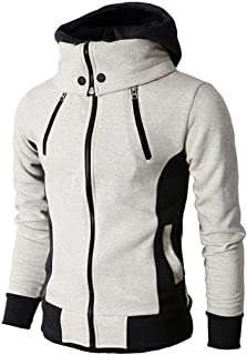 Men Sweatshirt Men Hoodie Sports Leisure Fashion Drawstring Long-Sleeved Spring and Autumn Running Tops Elegant and Comfor...