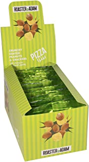 Roaster Adam Crunchy Coated Peanuts And Crackers, Pizza Flavor, 24 x 13 gm