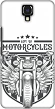 AMZER Handcrafted Designer Printed Slim Snap on Case - Infinix Note 4 - Love for Motorcycles 3