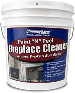 ChimneySaver Paint N Peel Fireplace Cleaner, 1 Gallon
