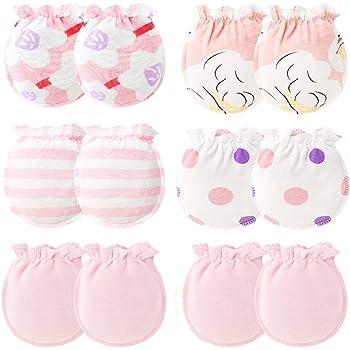 New Boy Girls Infant Soft Cotton Handguard Anti Scratch Mittens Gloves 20Pcs