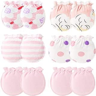 Baby Cotton Gloves Newborn Infant Toddler No Scratch Mittens